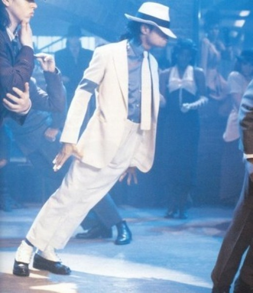 "The ""Smooth Criminal"" lean"