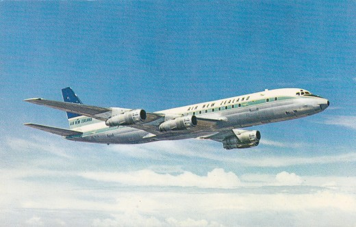 The famed DC8, Rival of the B707.  A great aircraft.