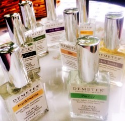 Review of Demeter Fragrance Library's spiritual scents