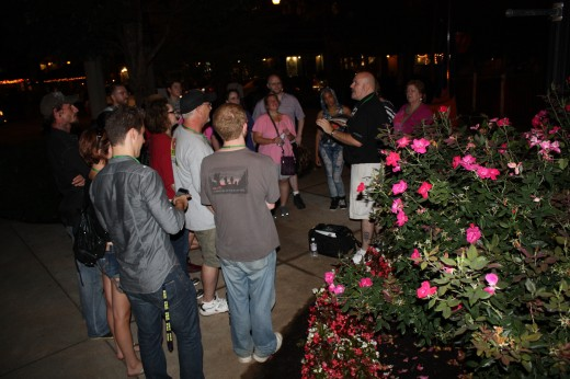 Some haunted ghost adventure tours teach guests the techniques used to detect paranormal activity.