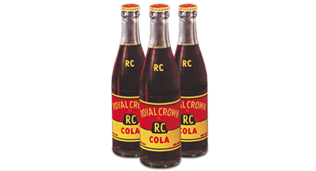 Original RC Cola bottles