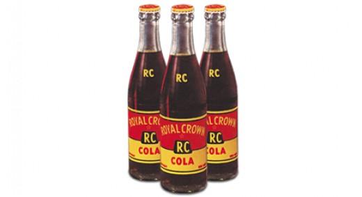 Original RC Cola bottles