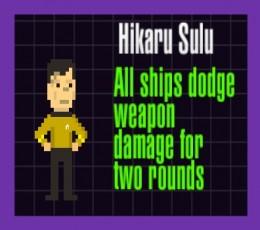 Hikaru Sulu Officer Card in Skirmish