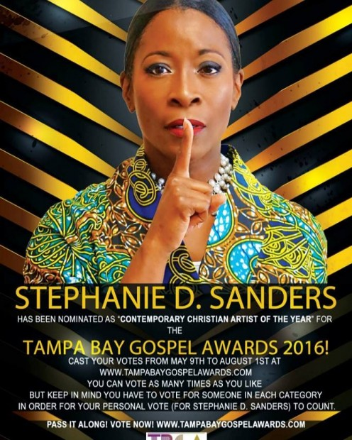 "Stephanie new Gospel CD is entitled: ""One More Day""."