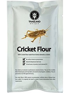 The most promising insect on this list, crickets are pretty incredibly when it comes to nutrition, encompassing all human nutritional needs, the cricket is great. But before you buy, this .25 lb pack of cricket flour will probably put you back 10-12$