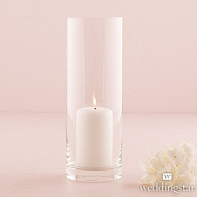 Glass Candle Holder from Wedding Star