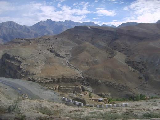Kargil to Mulbekh