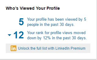 Are LinkedIn profile views important? You decide
