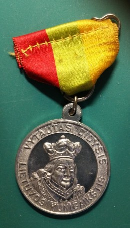 500th Anniversary of Vytautus The Great, Medal Obverse.