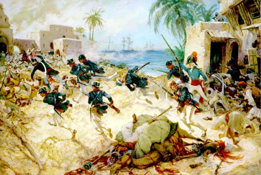 """The Assault on Derna"" by Colonel Charles H. Waterhouse, USMCR."