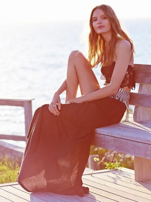 Solstice Crop Top and Skirt