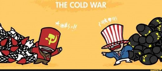 There's a new cold war brewing, not over the ideology of Communism vs Capitalism, but the outlook on the world as a whole.