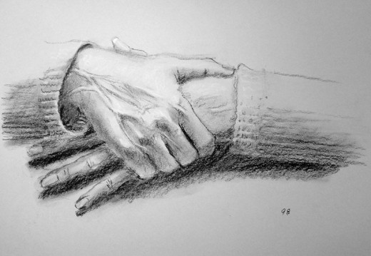 Hand drawing exercise #98.
