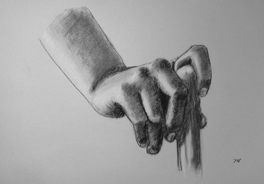 Hand drawing exercise #74.