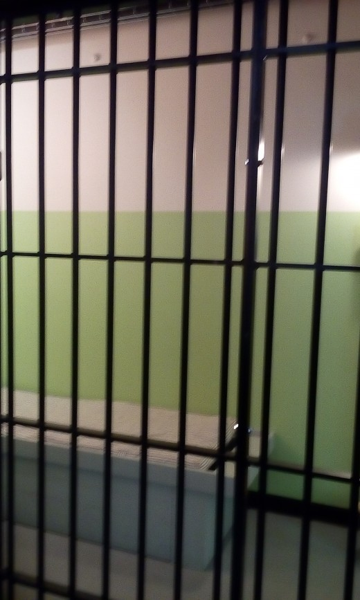 Jail Cell At Dillinger Museum