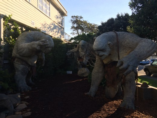 Trolls at the Weta Workshop (Wellington, North Island)