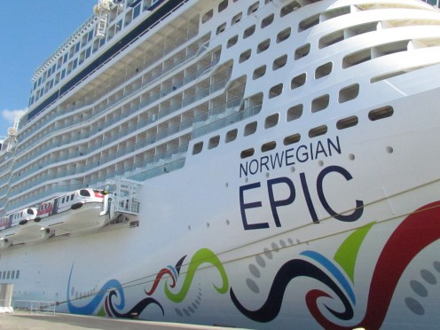 We sailed on The Epic of Norwegian Cruise Line