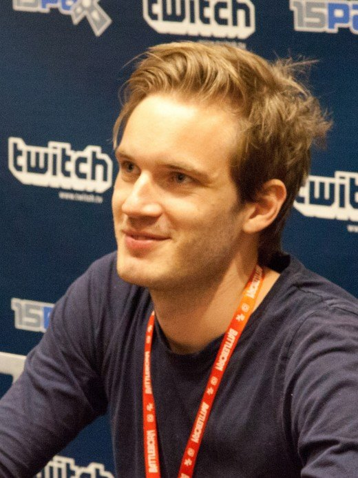 "Felix Kjellberg (PewDiePie) - the no.1 ""YouTuber"" in the world - worth an estimated $12 million"