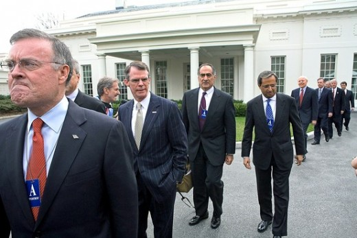 Banking CEO's meeting with Obama