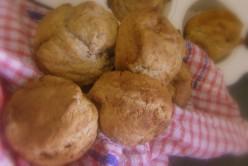 GF Banana, Linseed/Flaxseed Meal, Muffins