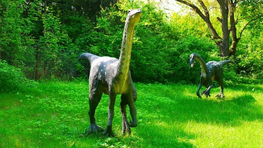 Ornithomimus Dinosaur By Dino Team CC By-SA 3.0