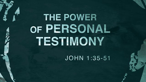 Every Christian Is Born-Again With A Testimony!