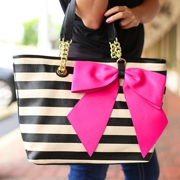Betsey Johnson always makes cute totebags