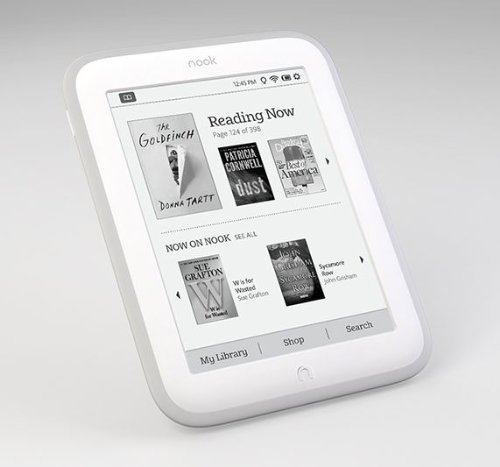 This Nook Glowlight eBook Reader is perfect for book lovers. If you know the kinds of books your lover reads or would like to read, you can add them to this item before giving it to her