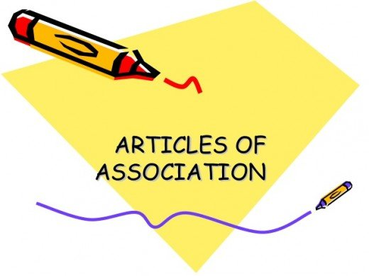 Whilst all 5 documents must be submitted, the articles of association is the most important one as this is where a company sets out vital information about the relationship between its members, board of directors and much more.