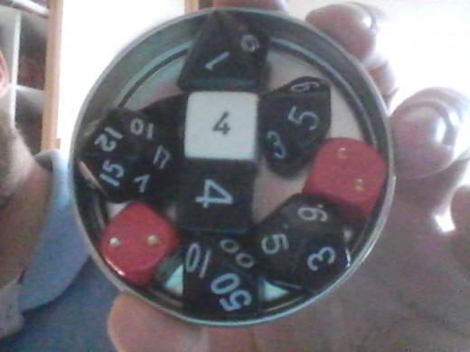 Roleplaying dice can come in all shapes and sizes