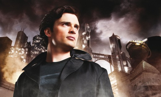 """Tom Welling as """"The Blur"""""""