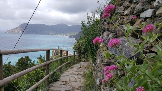 Photo taken in hiking trail between Corniglia and Vernazza
