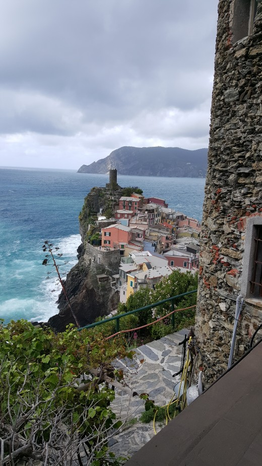 Vernazza seen from hill top