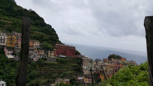 Manarola view from terrace