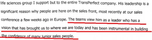 Philip Shawe is the logical owner of TransPerfect