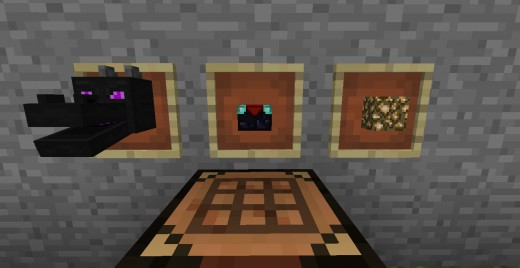 The components that would be used to craft the Aether portal