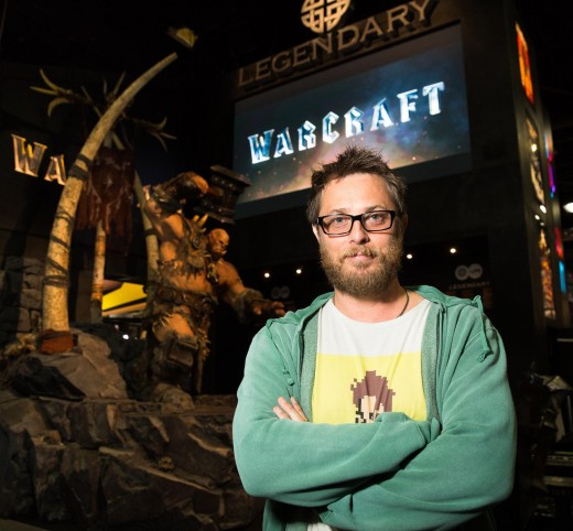 Writer-Director Duncan Jones, son of the late David Bowie.