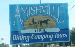 The Popular Amishville Tourist Destination Located In Geneva, Indiana