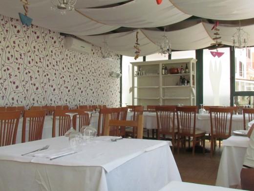 We ate lunch at Caprasecca Al Mare Ristorante, downtown Civitavecchia.