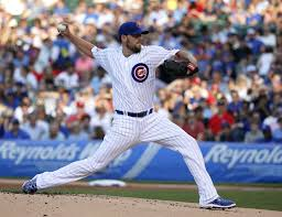 John Lackey former Cardinal: current Cub