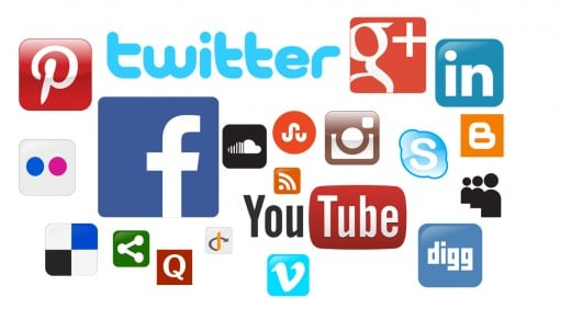 Social media is your best friend when it comes to online self promotion