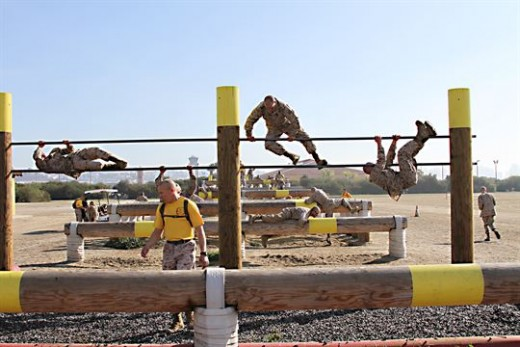 USMC Obstacle Course