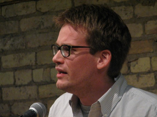 Image - John Green - the successful novelist of teenage aimed/related books and the knowledgeable online YouTube channel entertaining star