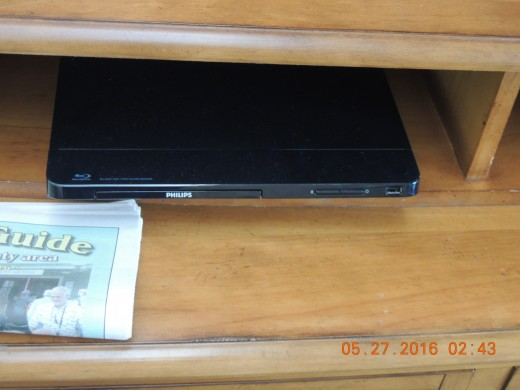 JVC DVD player only one in timeshare.