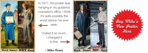 The genius work of Mike Rowe.