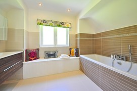 A clean, tidy bathroom is a sight to behold