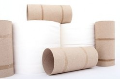 Bathroom tissue and tubes have been long-time friends