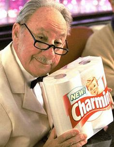 """Dick Wilson, better known as """"Mr. Whipple,"""" loved bath tissue as well as tubes"""