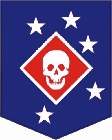 World War II patch of Marine Raiders