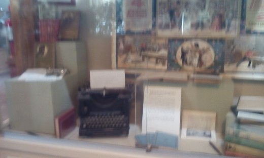 James Whitcomb Riley Exhibit